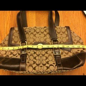 Coach Bags - Signature Coach satchel bag in brown